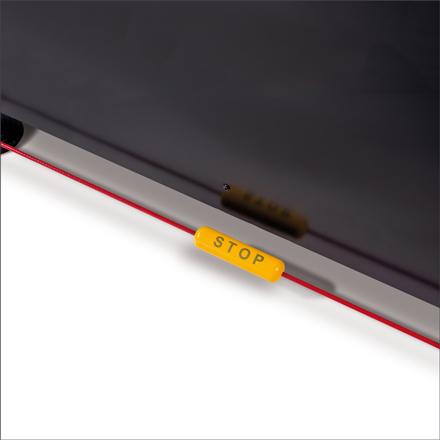 Les imprimantes VersaUV série S disposent d'un capteur permettant de garantir un périmètre de sécurité