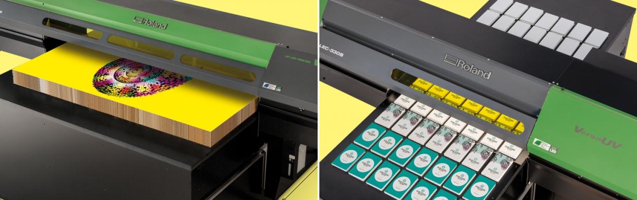 Imprimantes à plat VersaUV série S : LEJ-640S et LEC-330S