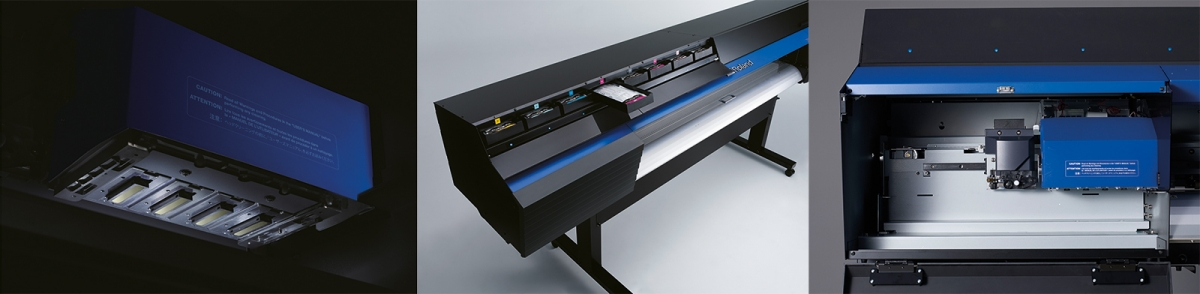 Advanced features of the Roland TrueVIS VG series